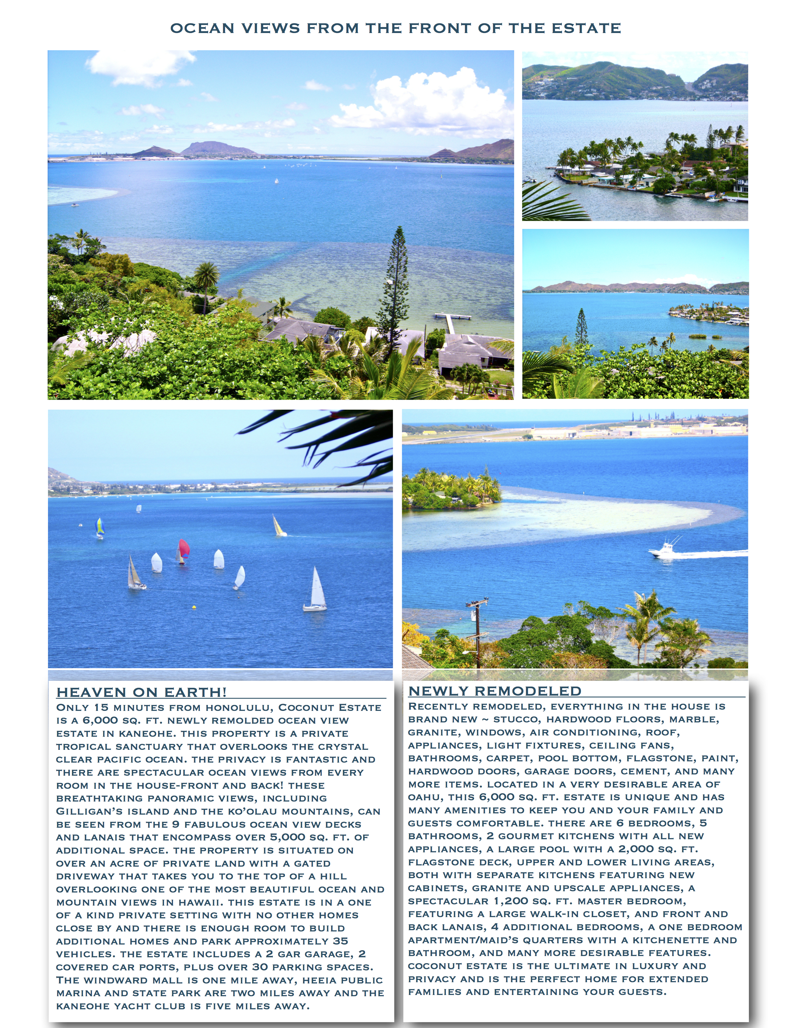 Hawaii Estate Page 2