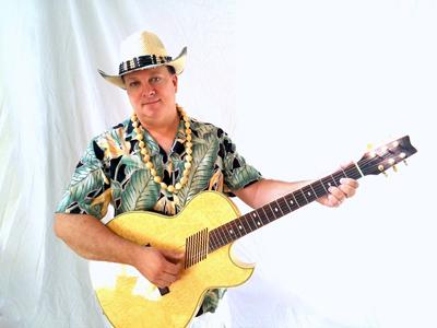Guitarist John B 1