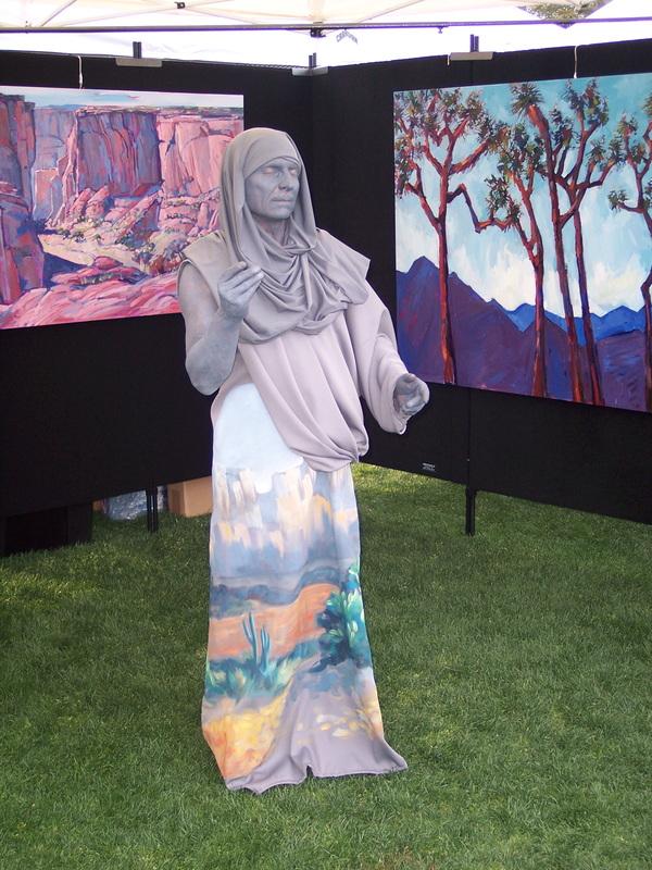 Living Statue 21