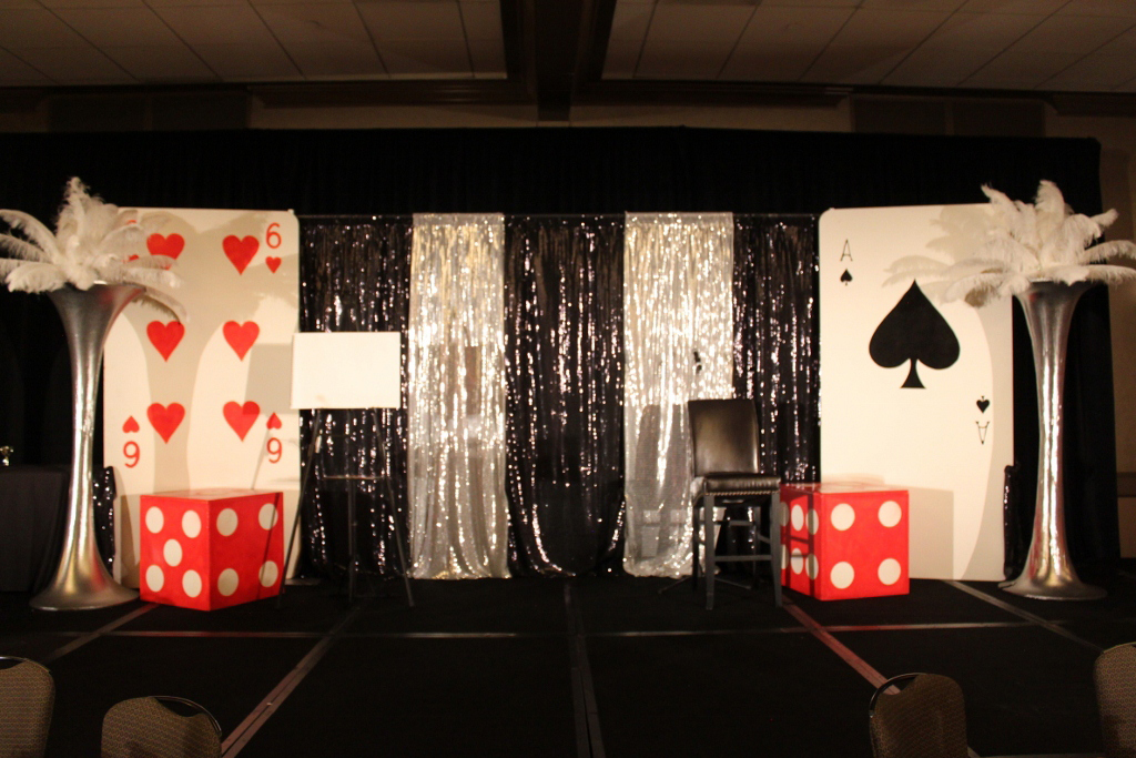 The event consultants casino event decor for Decor 007